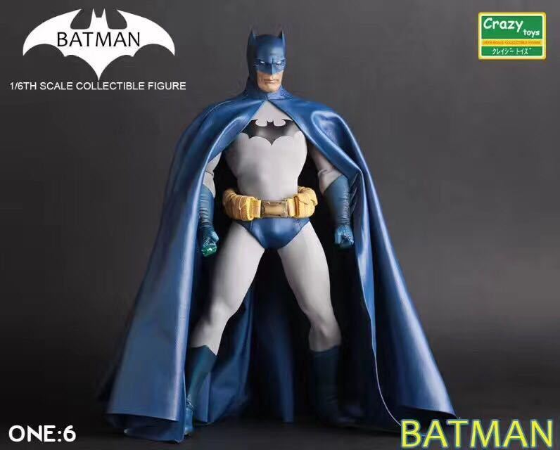Crazy Toys bluee Batman Batman Batman Collectible 1 6 Scale  Limit Edition Action Figure New 9a8b06