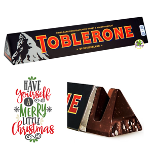 Details About Giant Toblerone Dark Chocolate 360g Christmas Present Secret Santa Gift