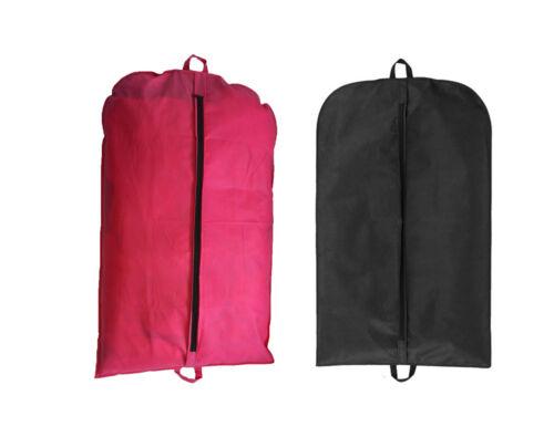 SUIT BAG EUROBAG SUIT COVER BLACK  OR HOT PINK SUIT CARRIER // TRAVEL BAG