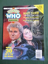 DOCTOR WHO MAG -COLIN BAKER  - NO 178 - OCT 1991