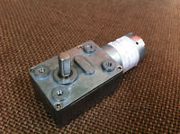 30rpm High Torque Electirc Worm Turbo Gear Motor Geared Low Speed Box 12v Dc