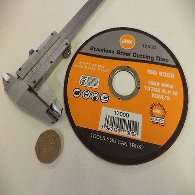 "ULTRA THIN CUTTING DISC BLADE CUT OFF CHOP SAW METAL 4/"" 240V 110V ANGLE GRINDER"