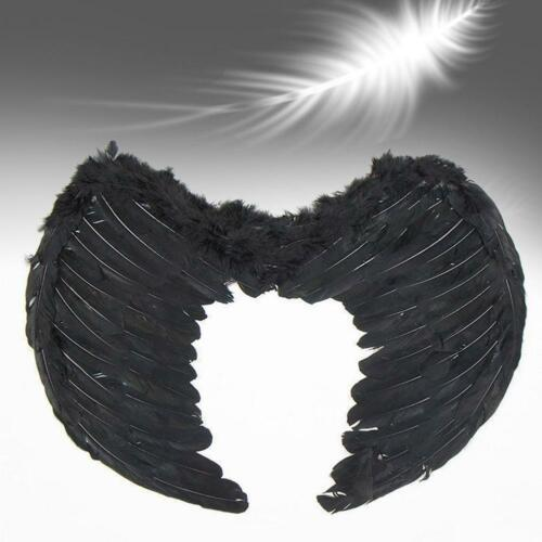 Angel Wings Feather Fairy Hen Party Fancy Dress Costume Night Halloween Dress BG