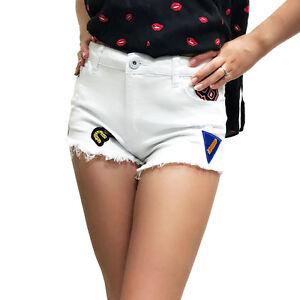 Uniq Denim Verkauf Neue M Shorts Patch L Gre S White fFw1TOBq