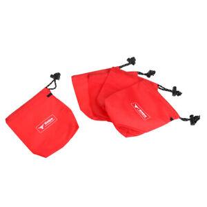 Waterproof Drawstring Storage Bag Climbing Hardware Camping Carry Pack Small