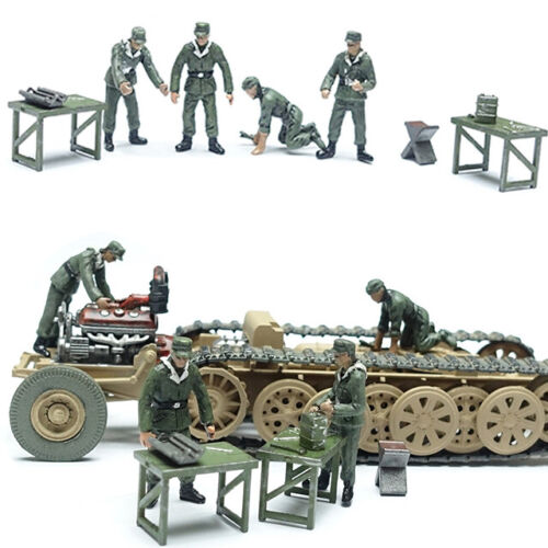 A Pma Models 0405-1//72 WWII German Engine Mechanics Neu