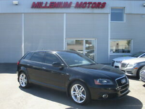 2012 Audi A3 2.0T PREMIUM S-LINE S-SPEED / PANO ROOF / LEATHER