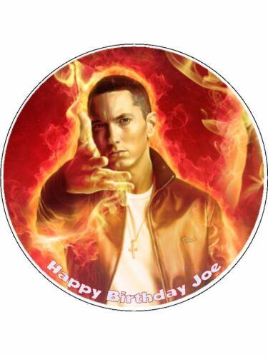 Eminem 01 pre-cut Edible Icing Cake Topper or Ribbon