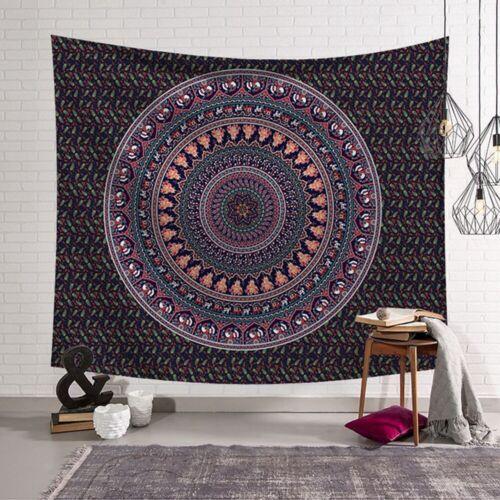 Wandbehang Polyester Mandala Muster Decke Home Décor Mat GE