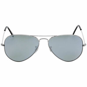 0ef0f0afb7de Ray-Ban RB3025 W3277 58mm Silver Mirror Aviator Sunglasses for sale ...