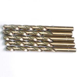 15-32-034-x5-3-4-034-Cobalt-Drill-Bits-Set-HSS-M35-Jobber-Length-Metal-Drill-Bit-5-Pack