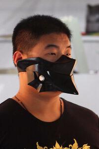 Anime Tokyo Ghoul Kirishima Ayato Black Mask FRP Cospaly Prop Accessories Gift