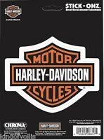 "HARLEY DAVIDSON MOTORCYCLES CLASSIC LOGO 5.5"" STICKER DECAL"