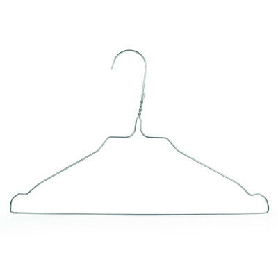 Hangerworld 34cm perchas metal ni os plata pantalones - Perchas ahorra espacio ...
