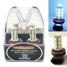 Retail Box LED H11 6000K White Xenon 18 SMD 12V Headlight #v21 Bulb Lo Low Beam