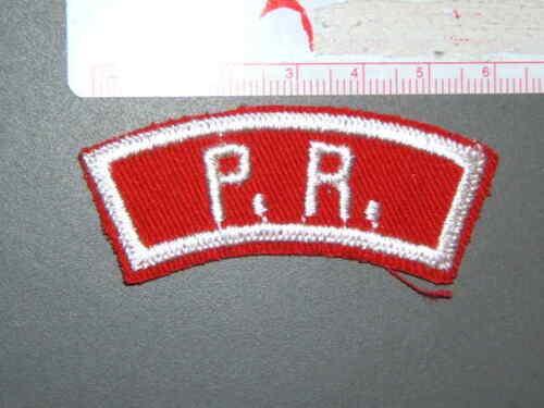 6609P Boy Scout RWS state strip P.R