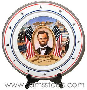 1993 Budweiser President Abraham Lincoln Plate