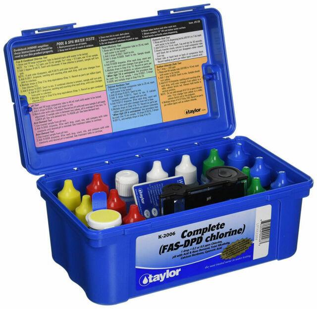 Taylor K 2006 Complete Chlorine Test For Sale Online Ebay