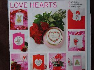 37 Love Hearts cross stitch charts designed by Jenny Barton - Mold, United Kingdom - 37 Love Hearts cross stitch charts designed by Jenny Barton - Mold, United Kingdom