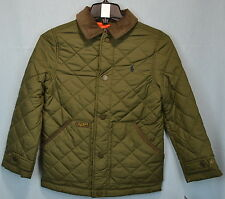 Ralph Lauren Boys' Quilted Jacket size 2T in Expedition Green