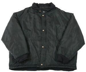 Vintage-HUGO-BOSS-Padded-Bomber-Jacket-XXL-2XL-Coat-Retro