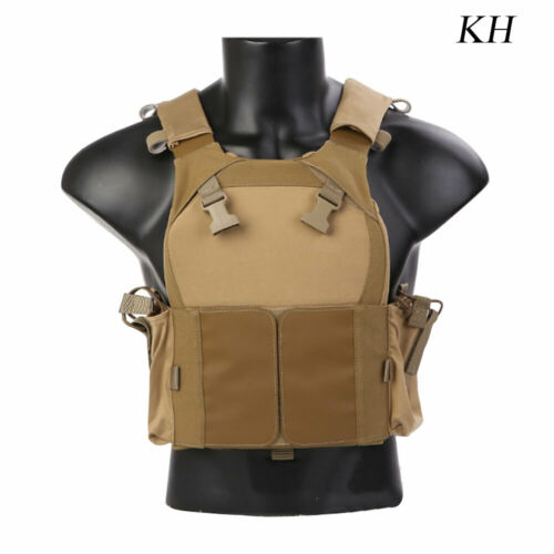 EMERSON Tactical Plate Carrier Body Vest Armor LV-MBAV Army Vests With Mag Pouch