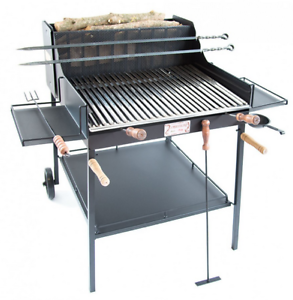 Home & Garden Yard, Garden & Outdoor Living 123x83x110 More Discounts Surprises Barbecue A Legna E Carbone Fuocone Umbria Cm