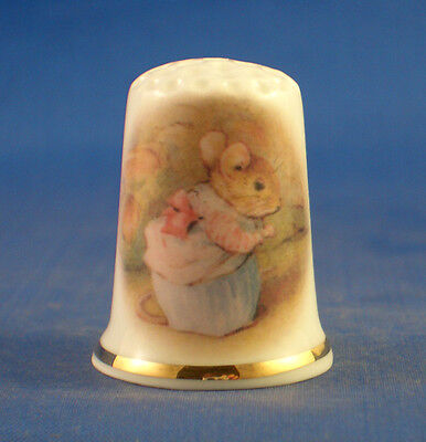 Birchcroft Thimbles Beatrix Potter Mice Set of Three