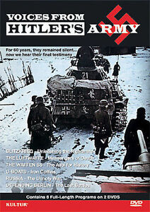 Voices-From-Hitler-039-s-Army-DVD-2007-2-Disc-Set