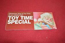 Case International Toys Dealer's Brochure CP-813-D LCOH