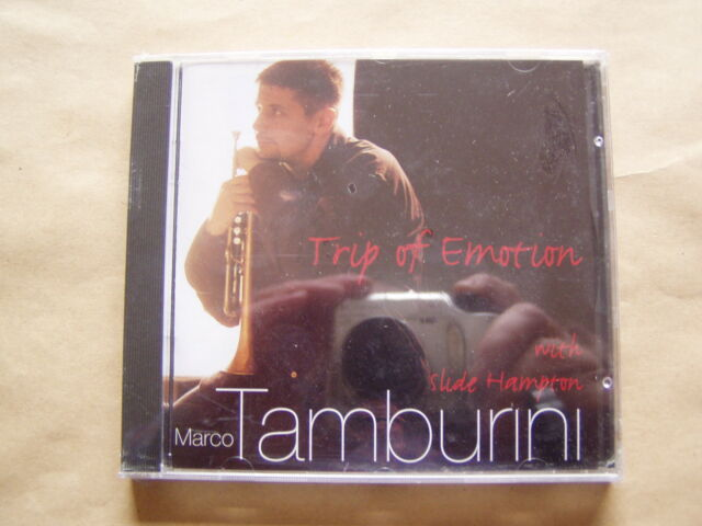 CD  -  Marco Tamburini with Slide H..- Trip Of Emotion  -  OVP