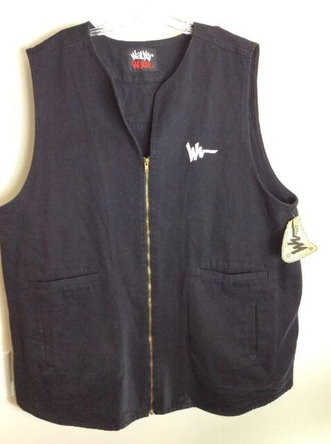 RARE Vintage Walker Wear Black Long Vest By Mike Tyson 80s-90s Hip Hop NWT XXL