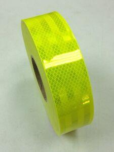 3M-Diamond-Grade-Fluro-Yellow-4083-Class-1W-Reflective-Tape-50mm-x-2m-Roll