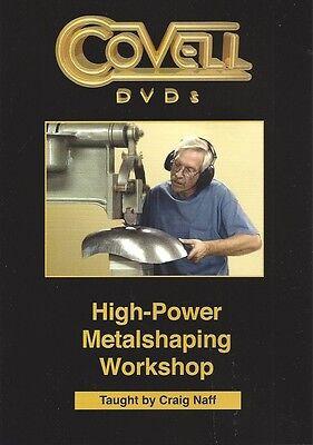 HIGH-POWER METALSHAPING WORKSHOP by Craig Naff Pullmax English Wheel Welding