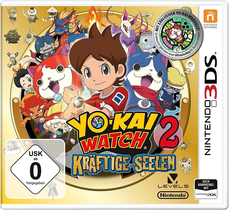YO-KAI WATCH 2 CARNANIMAS 3DS TEXTOS EN CASTELLANO ESPAÑOL NUEVO PRECINTADO