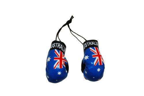 NEW AUSTRALIA COUNTRY FLAG MINI BOXING GLOVES .