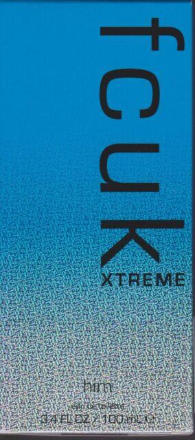 FCUK XTREME HIM Eau de Toilette 100ml Spray - NEW Sealed - FREE SHIP in Aust