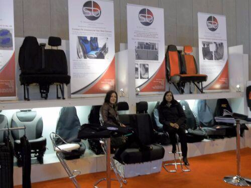 Noir Belinda MH-190 I-To Pour Fiat Ducato 2006 Camping-Car Siège Housses