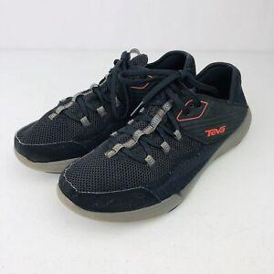 Teva-Refugio-Water-Shoes-Men-039-s-Size-9-Black-Red