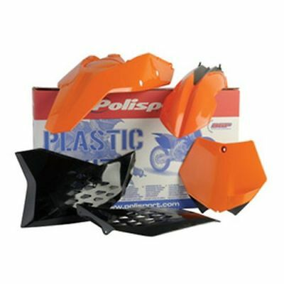 Polisport Complete Replica Plastic Kit KTM Orange//White for KTM 65 XC 2009