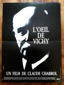 L-039-oeil-de-Vichy-CHABROL-Michel-BOUQUET-Brian-COX-Affiche-Cinema-40x60