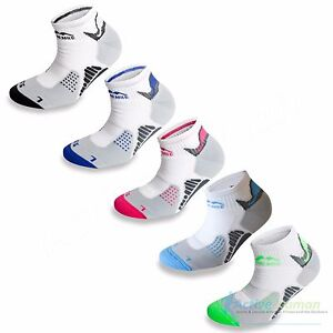 3-Pairs-More-Mile-Padded-Sports-Ankle-Cushioned-Running-Socks-Mens-Ladies-Womens