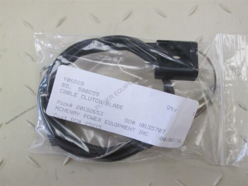 Genuine Billy Goat CABLE CLUTCH BLADE Part# 500259