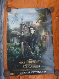 ISS-PEREGRINES-HOME-FOR-PECULIAR-CHILDREN-1-SHEET-MOVIE-double-sided-POSTER