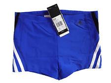 ADIDAS  AWI  BX Boxer Badehose Tight Kastenbadehose kobalt blau schwarz 164  NEU