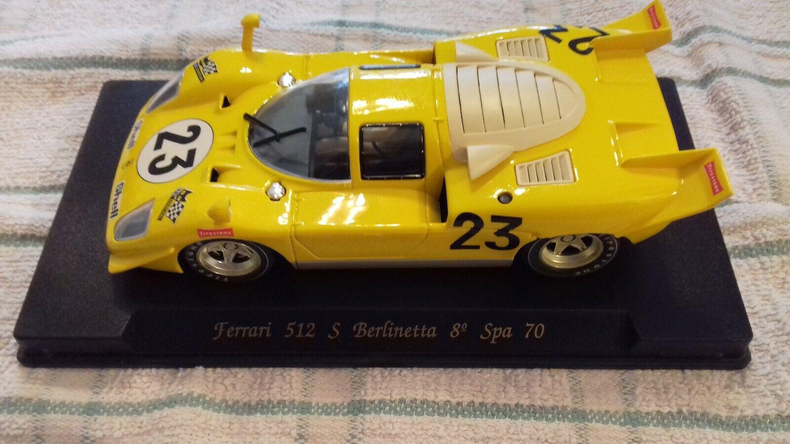 FLY C22 Ferrari 512 S Berlinetta 8th Spa 1970