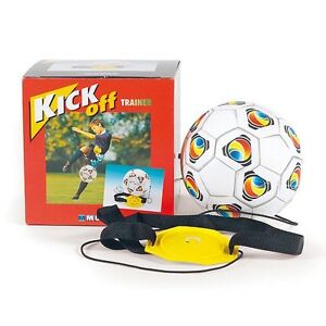 Mondo 18007 Kick Off Set Fußball Trainer Trainingsball Am Gummiband