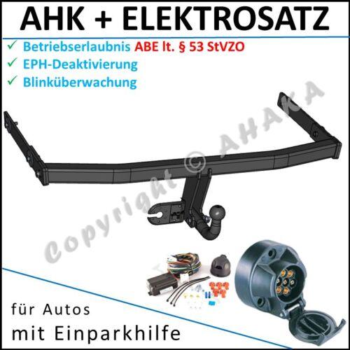 AHK /& es-7 SKODA OCTAVIA II da anno fabbricazione 2004-gancio di traino EPH-disattivazione es 7