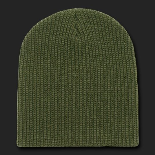 Buy Olive Green Watch Beanie Hat Ski Gi Military Winter Knit Cuffless Hats  Beanies online  5e183e09c66