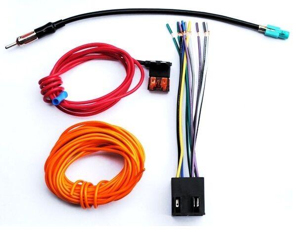 Porsche Boxster Aftermarket Radio Installation Wiring Harness Antenna Adapter